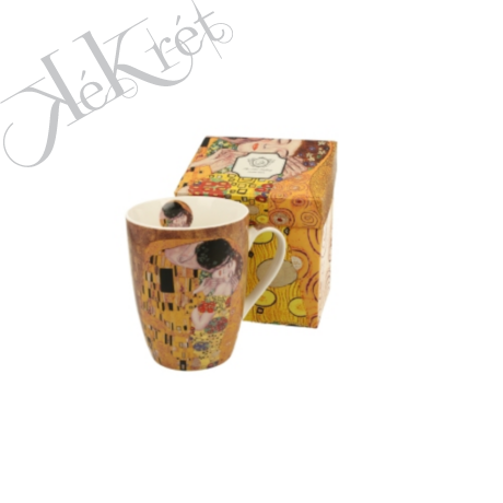 Porcelánbögre, 390ml, Klimt: The Kiss