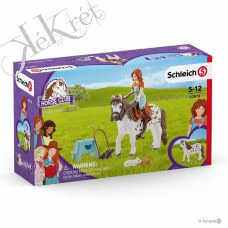 HORSE CLUB, MIA ÉS SPOTTY, Schleich