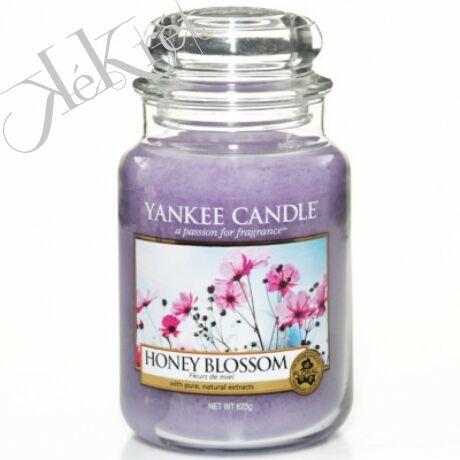 HONEY BLOSSOM nagy üveggyertya, Yankee Candle