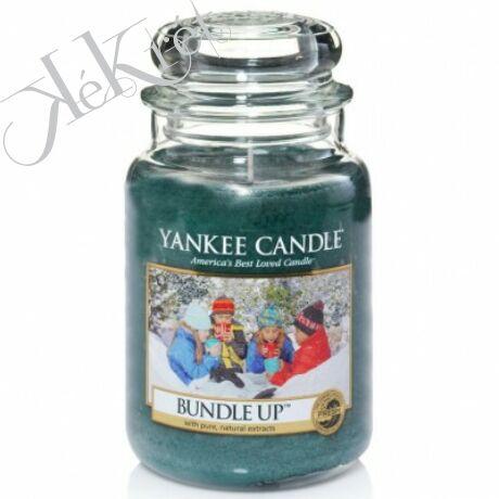 BUNDLE UP nagy üveggyertya, Yankee Candle