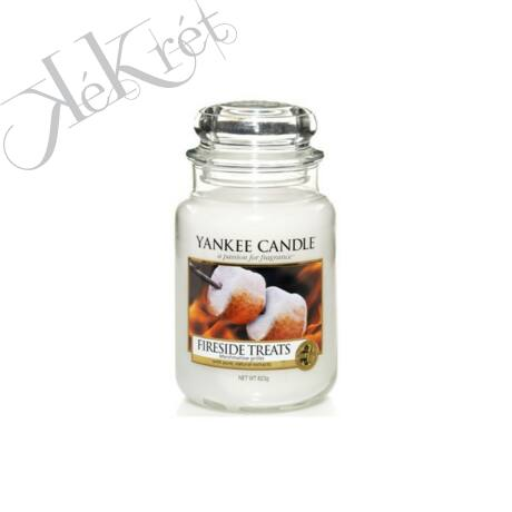 FIRESIDE TREATS nagy üveggyertya, Yankee Candle