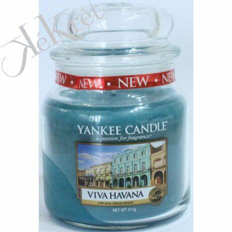 VIVA HAVANA KÖZEPES ÜVEGGYERTYA, Yankee Candle