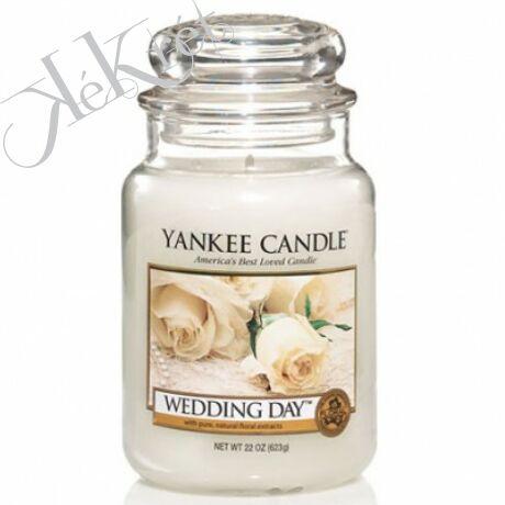 WEDDING DAY nagy üveggyertya, Yankee Candle