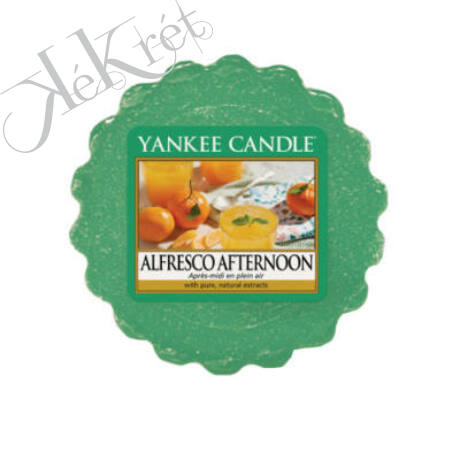 ALFRESCO AFTERNOON TARTS® MINI VIASZ, Yankee Candle