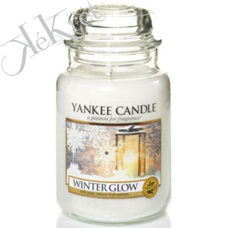 WINTER GLOW NAGY ÜVEGGYERTYA, Yankee Candle