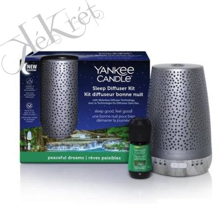SILVER SLEEP DIFFÚZOR SZETT, Yankee Candle
