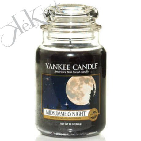 MIDSUMMER's NIGHT nagy üveggyertya, Yankee Candle