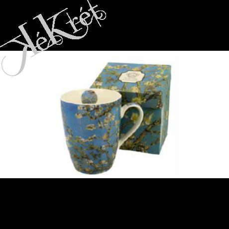 Porcelánbögre 390ml, Van Gogh: Mandulavirágzás