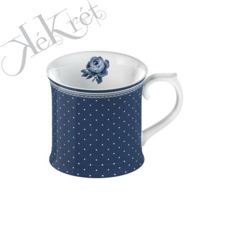Porcelánbögre 400ml,Spot,Vintage Indigo, Katie Alice