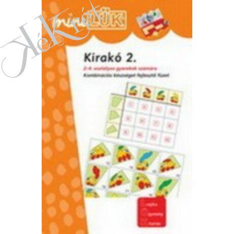 KIRAKÓ 2. Kombinációs készséget fejlesztő füzet 2-4. osztályosok számára