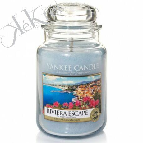 RIVIERA ESCAPE nagy üveggyertya, Yankee Candle
