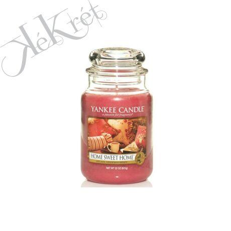 HOME SWEET HOME nagy üveggyertya, Yankee Candle