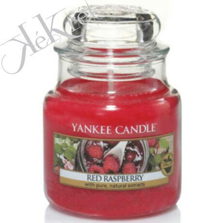RED RASPBERRY kis üveggyertya, Yankee Candle