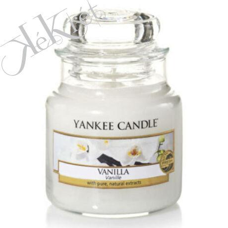 VANILLA  kis üveggyertya Yankee Candle