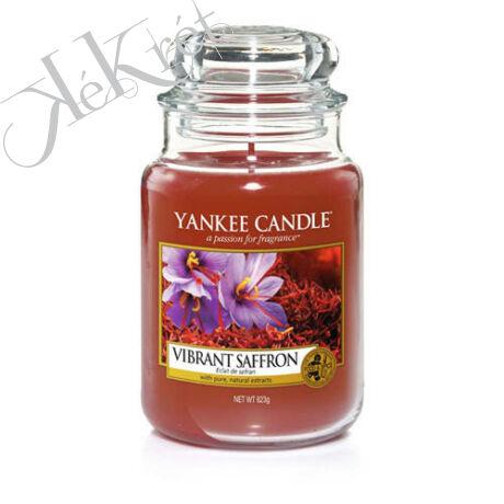 VIBRANT SAFFRON NAGY ÜVEGGYERTYA, Yankee Candle