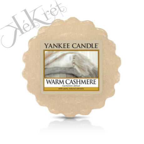 WARM CASHMERE TARTS® mini viasz, Yankee Candle