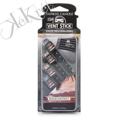 BLACK COCONUT autóillatosító pálca, Yankee Candle