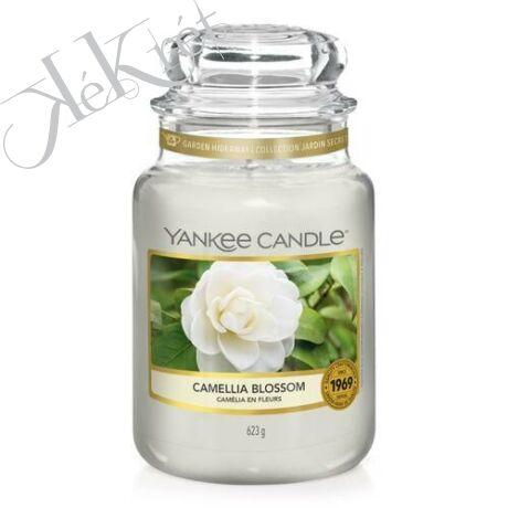 CAMELLIA BLOSSOM NAGY ÜVEGGYERTYA, Yankee Candle