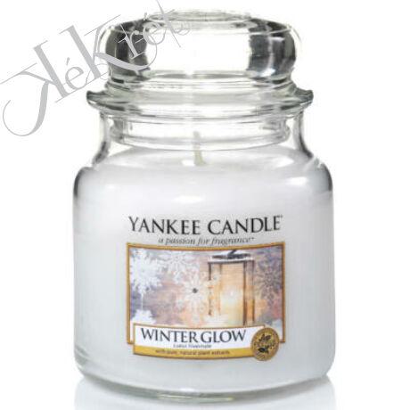 WINTER GLOW KÖZEPES ÜVEGGYERTYA, Yankee Candle