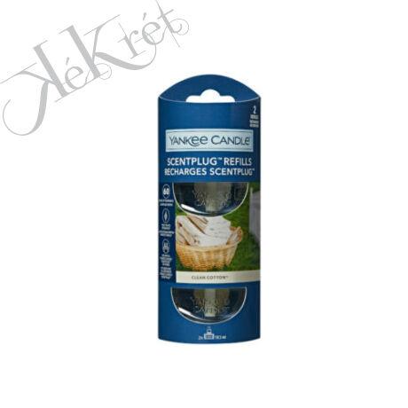 CLEAN COTTON elektromos légfrissítő utántöltő, Yankee Candle