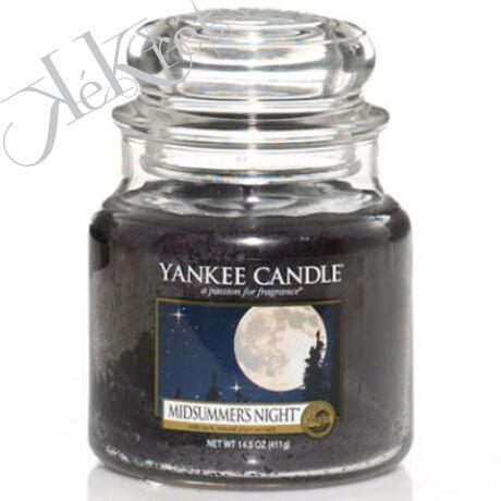 MIDSUMMER's NIGHT közepes üveggyertya, Yankee Candle