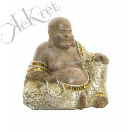 BUDDHA FIGURA, 20x14x18cm