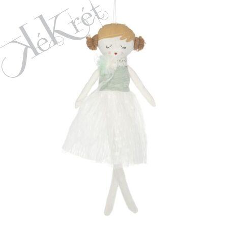 Kislány akasztós textil 31,5x5,5cm